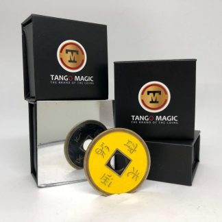 Chinese coin Black & Yellow (CH017)