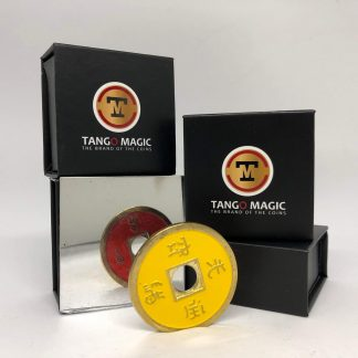 Chinese coin Red & Yellow (CH020)