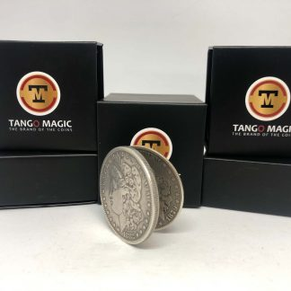 Flipper coin PRO ELASTIC SYSTEM Morgan Dollar pure silver (D0094)