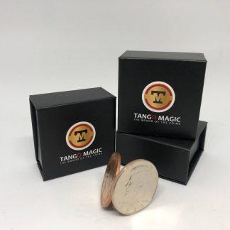 Flipper coin PRO ELASTIC SYSTEM Half Dollar/English Penny (D0101)