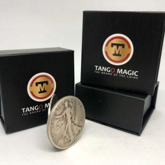 Flipper coin Pro ELASTIC SYSTEM Half Dollar Walking Liberty (D0119)