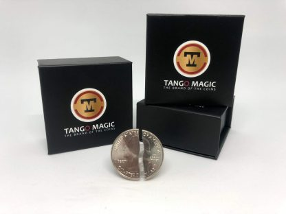 Double side Tango Folding coin Quarter Dollar (Internal System) DVD included (D0147)