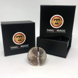 Tango Folding coin Quarter Dollar (single cut - Internal System) (D0180)