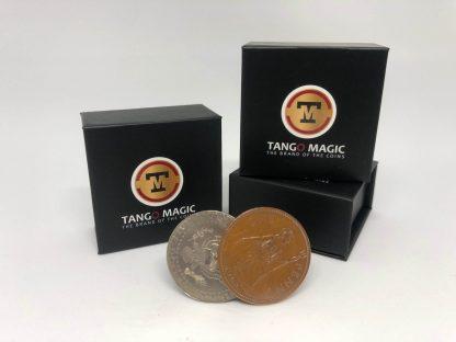 Flipper Coin PRO Gravity ELASTIC SYSTEM English Penny/Half Dollar (D0193)