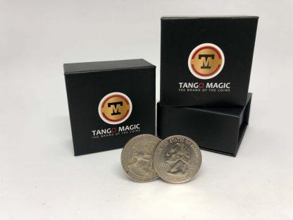 Flipper Coin PRO Gravity ELASTIC SYSTEM Quarter Dollar (D0194)