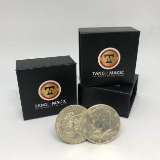 Flipper Coin PRO Gravity ELASTIC SYSTEM Half Dollar 1964 (D0197)
