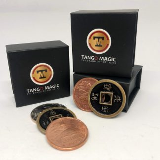TRIPLE TUC Variopinto, copper, silver and chinese one Dollar coin (D0203)