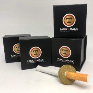 Cigarette or Pen thru coin 50 cents euro two sides (E0010)