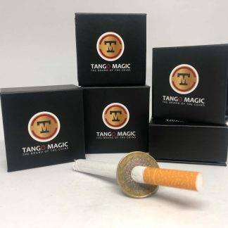 Cigarette or Pen thru 1 euro two sides (E0063)