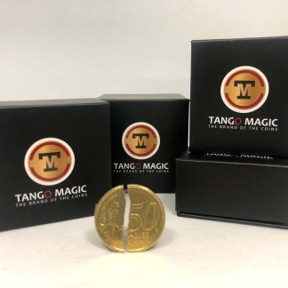 Double side Tango Folding coin 50 cents DVD included (E0084)