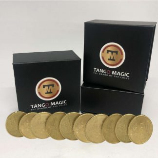 Tango magnetic coin production 50 cents x 10 coins (E0089)