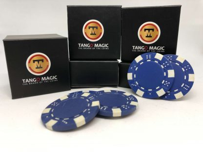 TUC poker chip Blue, include 3 regular chips (PK002B)